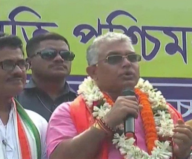 'Corona is over', claims Dilip Ghosh, says 'Mamata imposing lockdown to stop BJP from holding rallies'