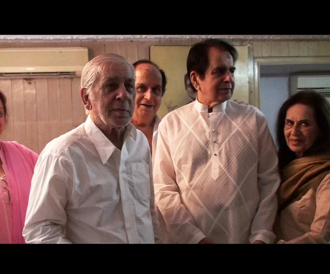 Dilip Kumar's younger brother, Ehsan Khan passes away at 90, had tested positive for COVID-19