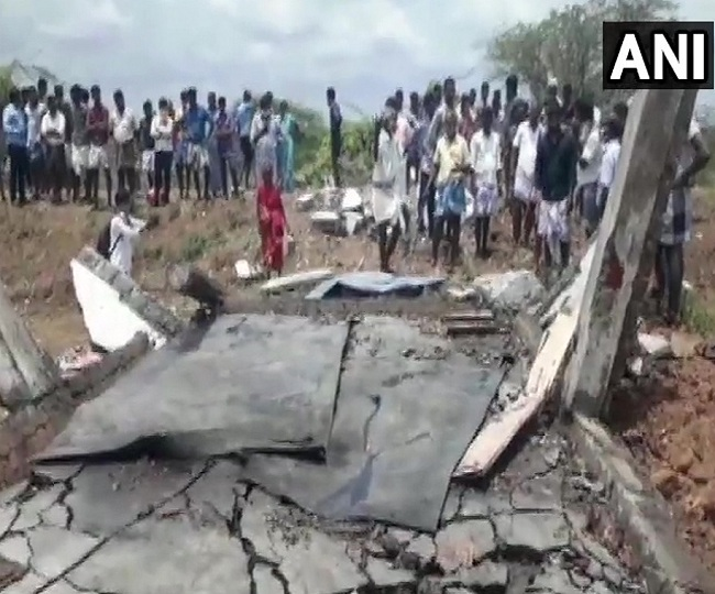 7 dead, 3 injured in massive blast at firecrackers factory in Tamil Nadu's Cuddalore
