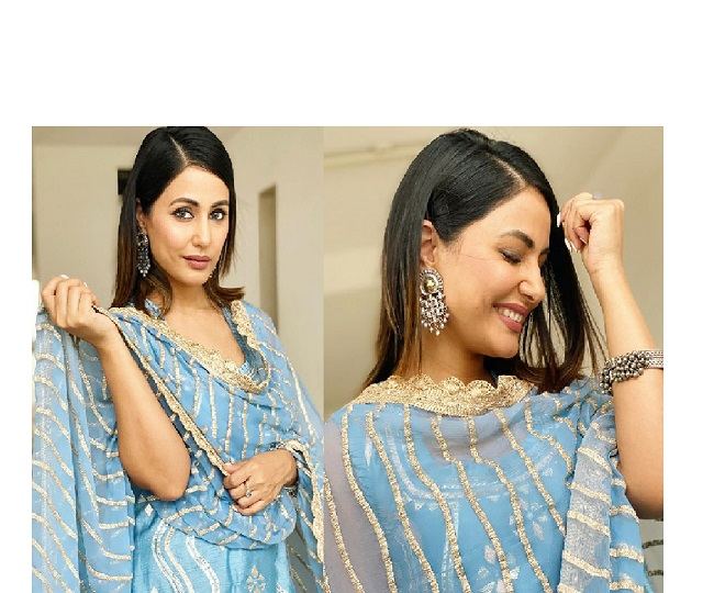 Hina Khan's Salwar Kameez look will inspire you for your next ethnic wear