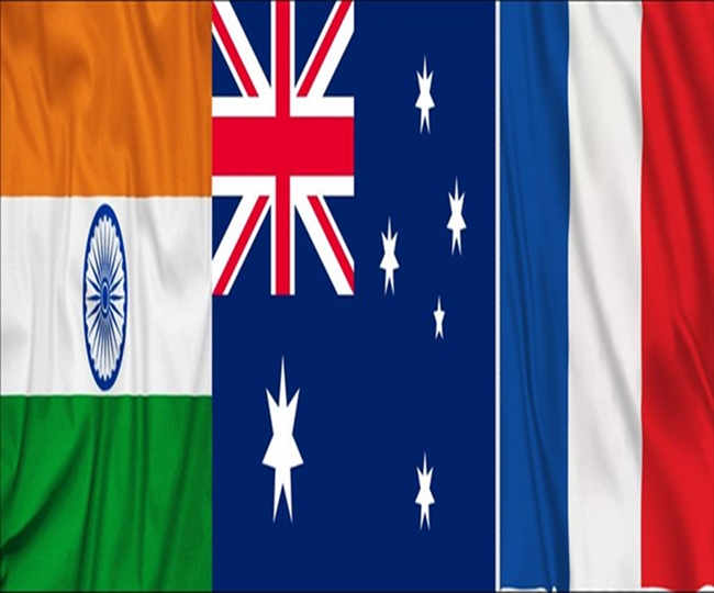 India, France, Australia hold meet to discuss economic, strategic challenges in Indo-Pacific