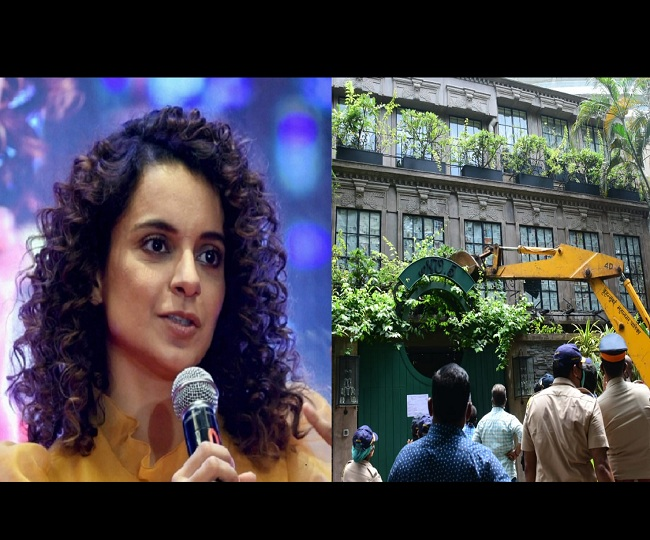 Bombay High Court adjourns Kangana Ranaut's plea against office demolition till September 22