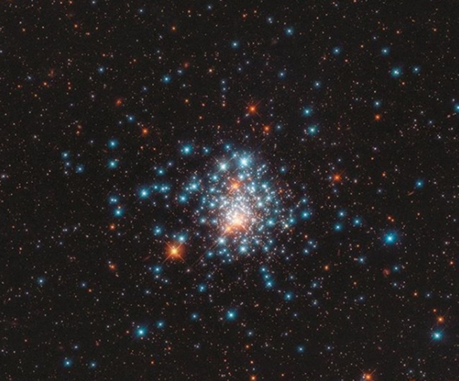 NASA reveals spellbinding image of multi-colored stars captured by Hubble telescope