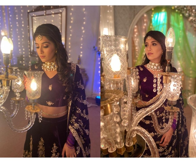 Chhoti Sardarni actress Nirmit Kaur Ahluwalia stunned fans with her latest traditional outfit | See Pics