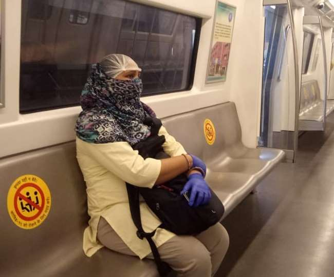 Noida Metro Guidelines: Get ready to pay this fine if you are not wearing face mask while travelling on Noida-Greater Noida route