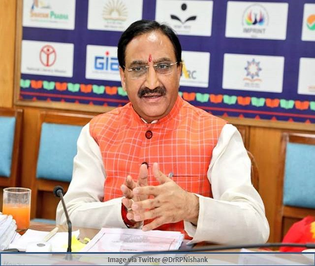 Like JEE, NEET aspirants will also follow COVID guidelines, says education minister Ramesh Pokhriyal