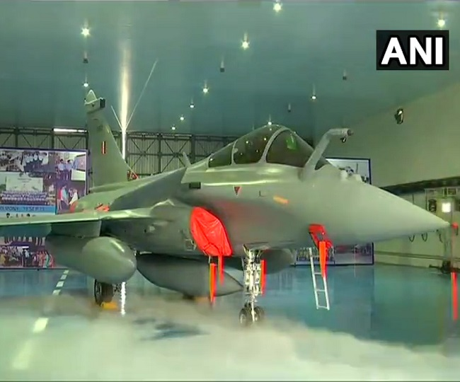 In Pics: 5 Rafale jets join Indian Air Force's 17 Squadron at Ambala airbase