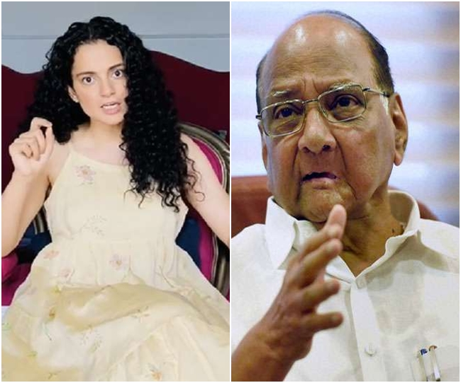 Kangana Ranaut-BMC row: Here's what Sharad Pawar said about civic body's demolition of actor's property