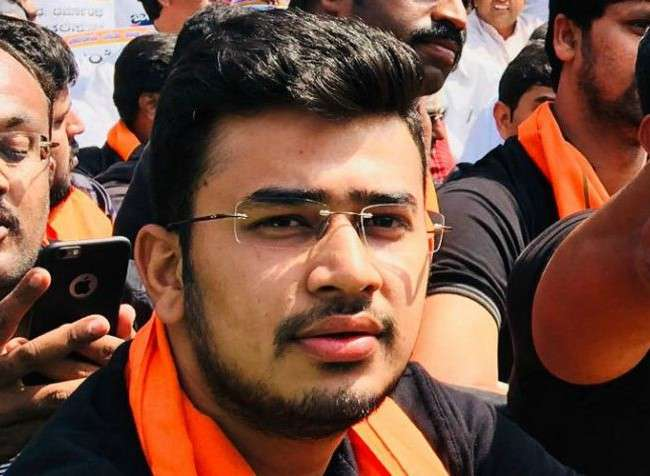 'Acts of violence to insult farmers': BJP MP Tejasvi Surya condemns tractor burning at India Gate