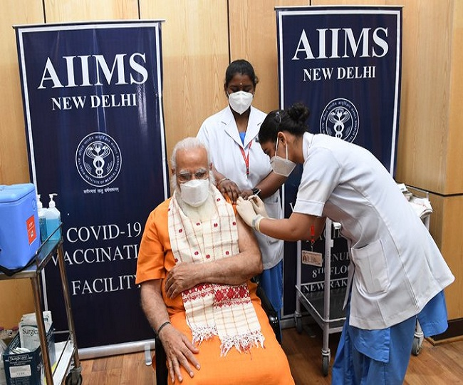 'Among few ways to defeat virus': PM Modi receives second dose of COVID-19 vaccine