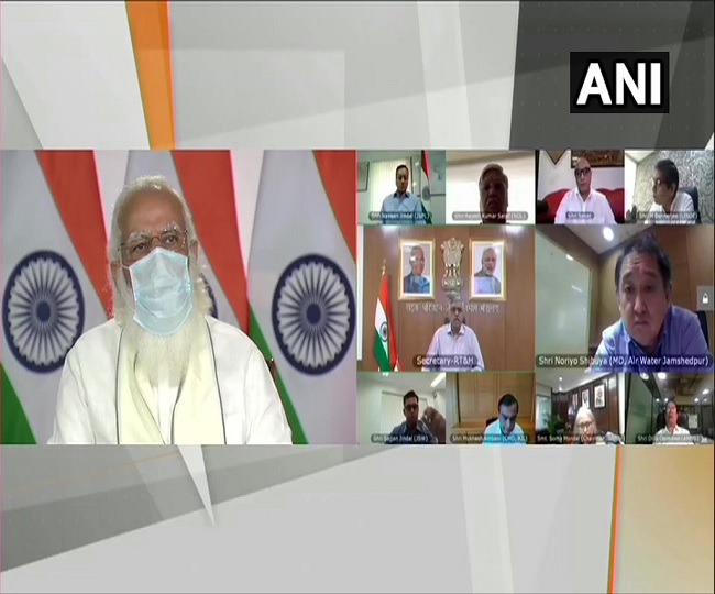 Coronavirus News: PM Modi holds meet with oxygen manufacturers amid shortage crisis in hospitals