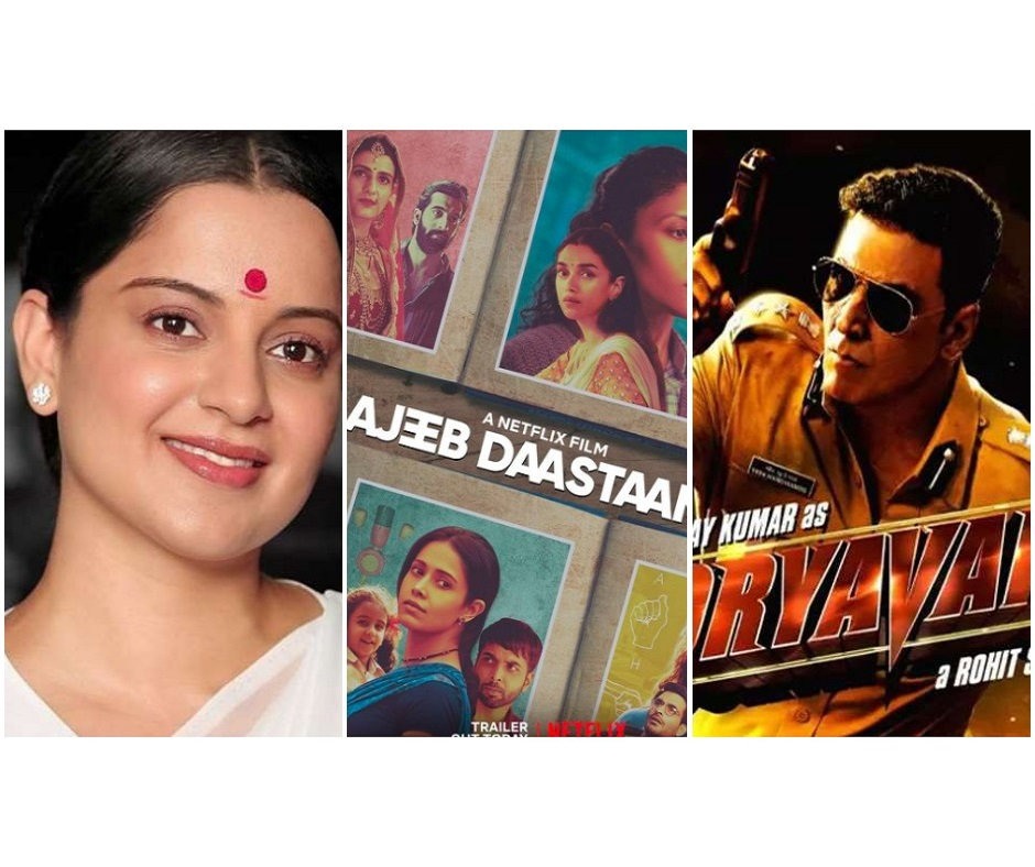 Ajeeb Daastaans, Thalaivi, Sooryavanshi, and more: Films and web series to binge-watch in year 2021 on OTTs and theatres | Check full list