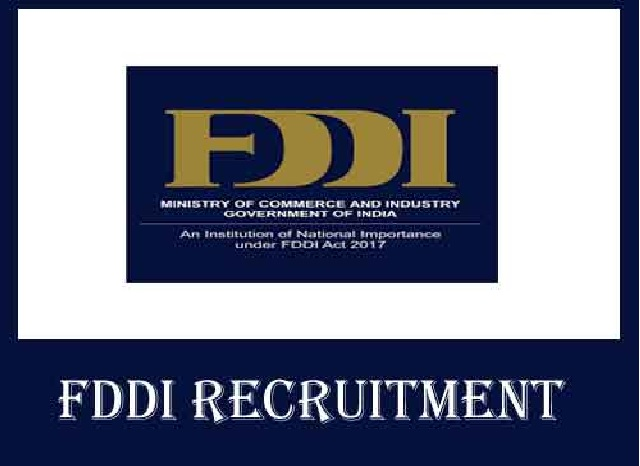 FDDI Recruitment 2021: Apply for 73 teaching and 15 managerial cadre posts before April 10