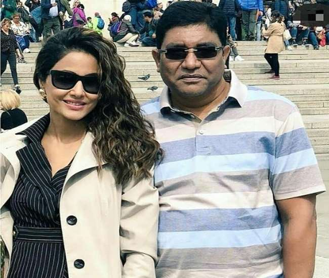 Hina Khan's father passes away due to cardiac arrest
