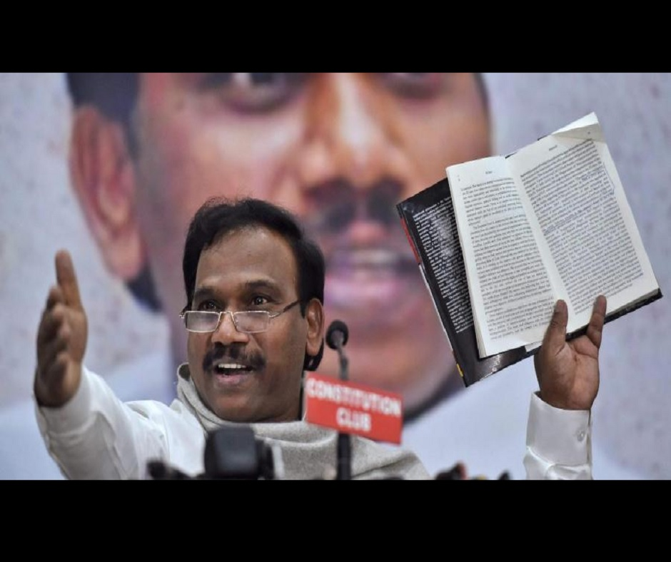 Tamil Nadu Polls: A Raja barred from campaigning for 48 hours over his 'offensive remarks' on CM Palaniswami
