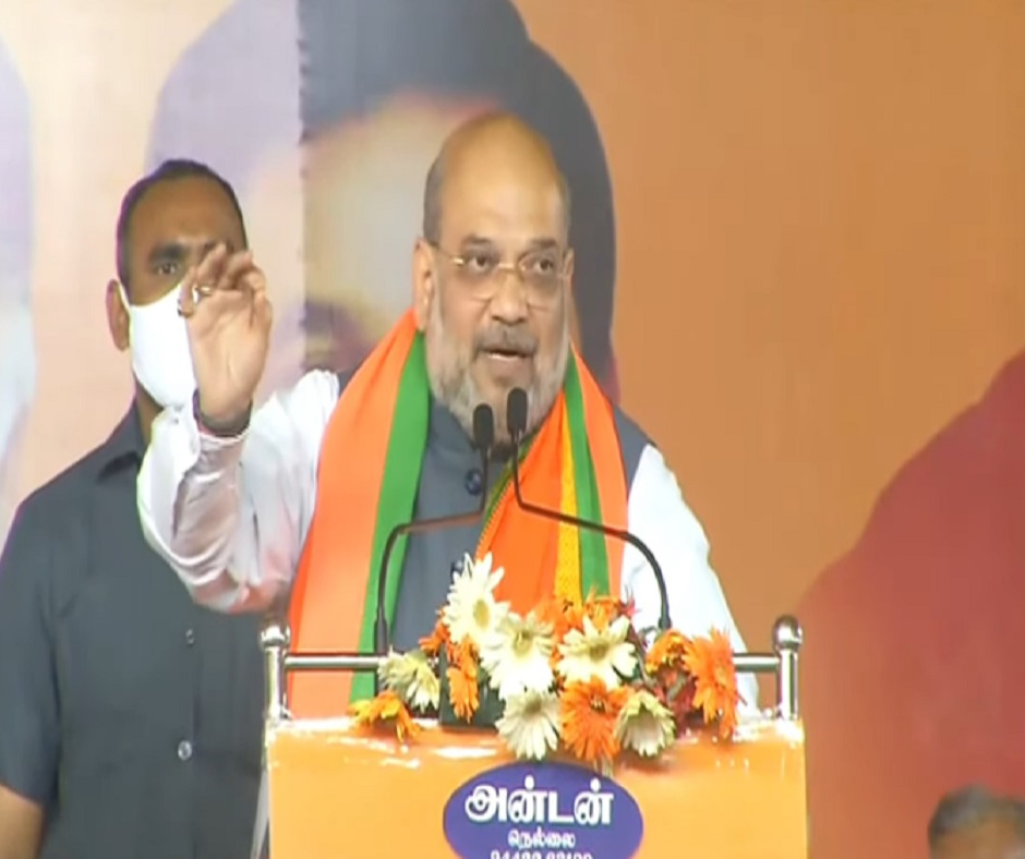 Tamil Nadu Elections: In Tirunelveli, Amit Shah asks people to reject 'corrupt, dynastic' DMK-Congress combine