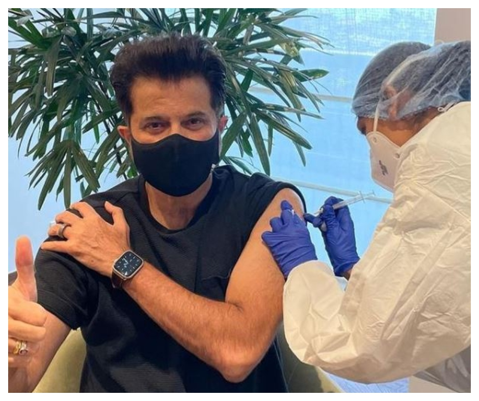 'Ageless' Anil Kapoor shares post after getting COVID-19 vaccine; celebs and fans say he is 'still under 45'