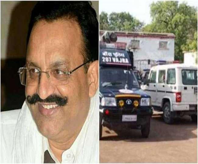 BSP strongman Mukhtar Ansari being brought back from Punjab to Uttar Pradesh, Banda on high alert