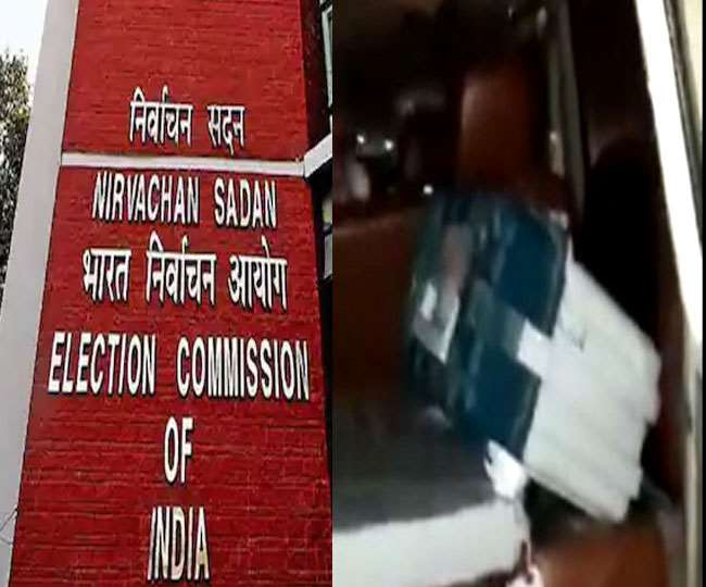Assam Polls: 4 officials suspended by EC after locals find polled EVM in BJP MLA's car, repolling at booth ordered