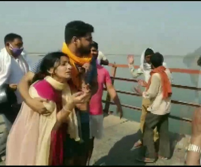 9 dead as jeep returning from wedding falls into Ganga river at Patna's Peepapul; Rs 4 lakh ex-gratia announced