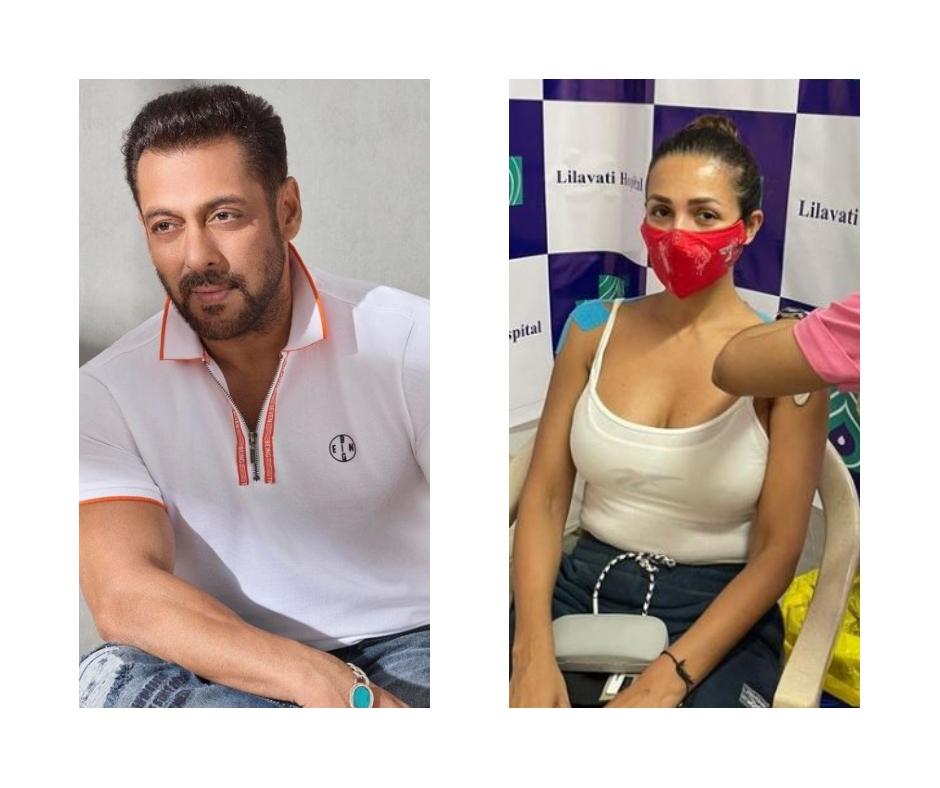 Malaika Arora to Salman Khan; Bollywood celebs who received first dose of COVID-19 vaccine