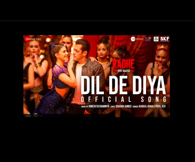 Radhe's Dil De Diya Song out: Jacqueline Fernandez's scintillating moves will make your jaw drop | WATCH