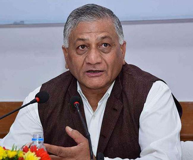 'Correct your understanding': Gen VK Singh issues clarification over Tweet on 'bed for COVID+ brother'