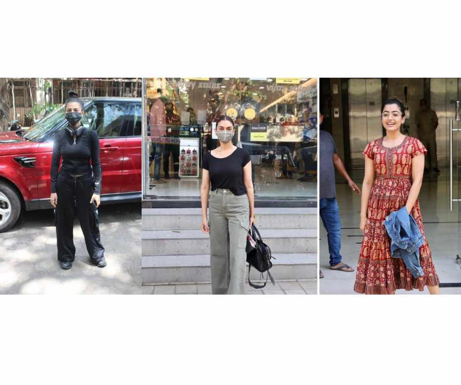 IN PICS: Shruti Hassan, Rashmika Mandanna, Aditi Rao Hydari, and others spotted in Mumbai