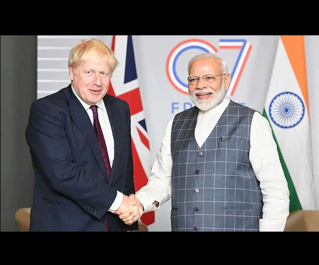 UK PM Boris Johnson cancels his next week's India visit amid COVID-19 crisis