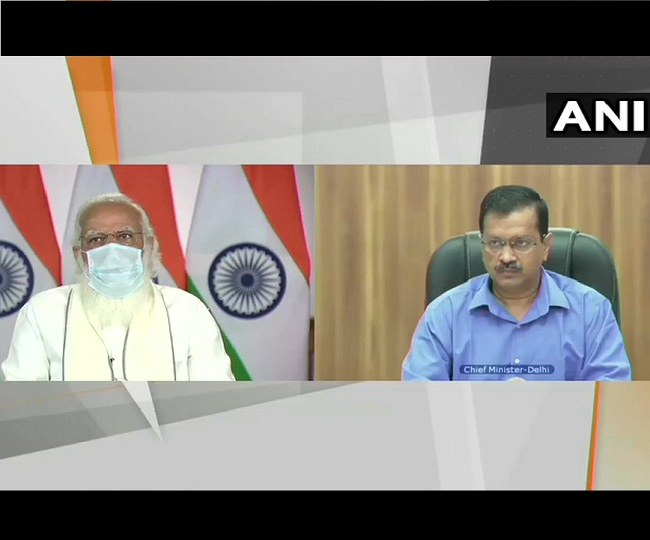 Kejriwal draws flak for telecasting live PM-CM meet on COVID crisis, CM 'descending to new low', say govt sources