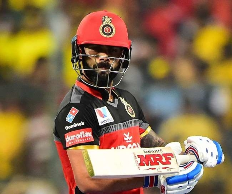 IPL 2021 | WATCH: Frustrated Virat Kohli vents out his anger on a chair after dismissal in RCB-SRH match