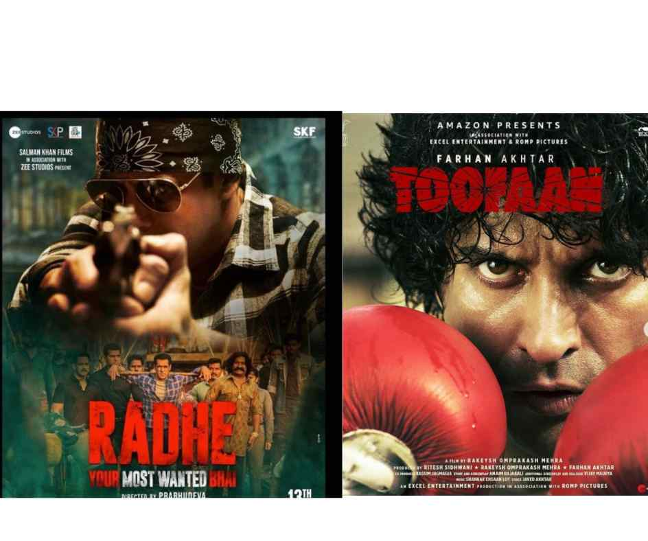 May 2021 Releases: From Radhe: Your Most Wanted Bhai to Toofaan, complete list of movies releasing this month on OTTs and theatres