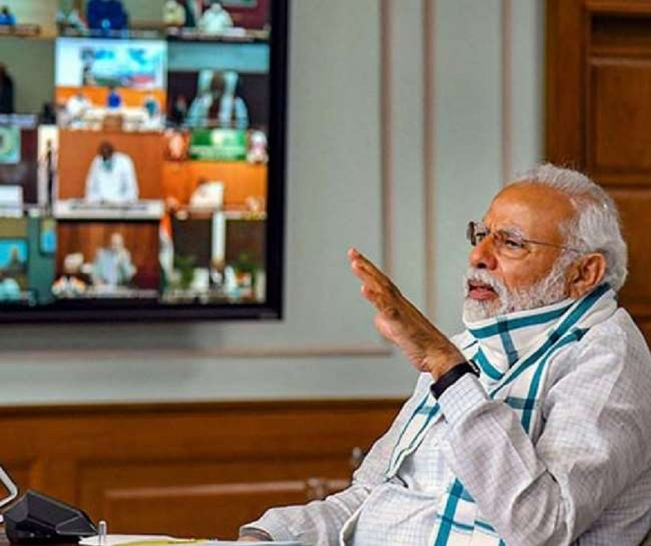 PM Modi chairs crucial meet as India reports biggest 1-day spike in COVID cases since September