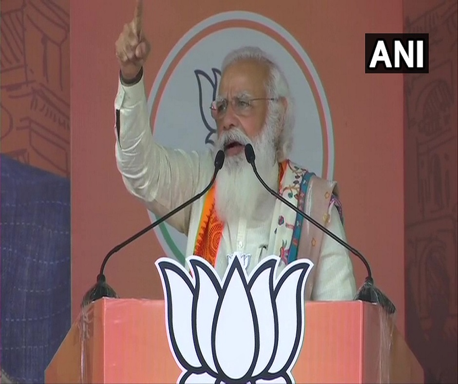 West Bengal Polls | Didi's goons unable to do 'Chappa' due to central forces: PM Modi's fresh salvo at Mamata Banerjee