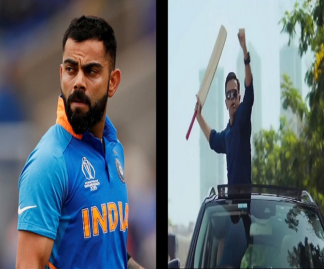 Rahul Dravid's 'angry side' leaves Virat Kohli in shock; see Indian skipper's reaction here | WATCH