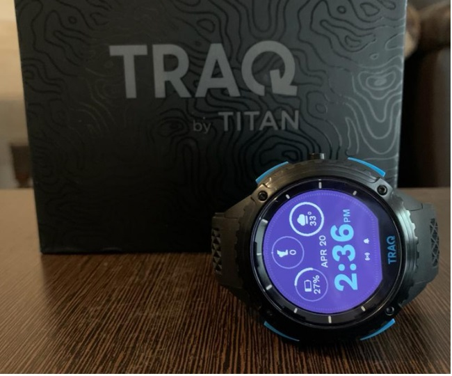 Titan TRAQ Triathlon Review: A power-packed features loaded smartwatch.
