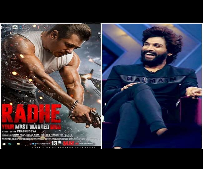 Salman Khan showers Allu Arjun with compliments for Seeti Maar dance moves, latter replies with filmy tweet