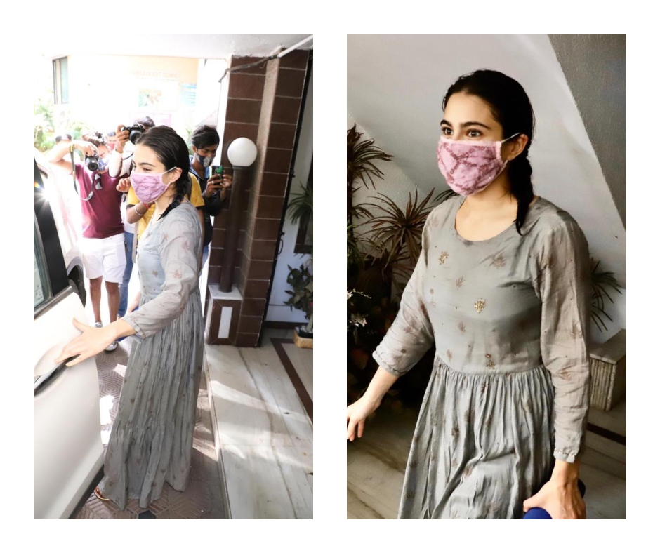 Sara Ali Khan's minimalistic grey dress is an ideal pick for your summer wardrobe | See pics
