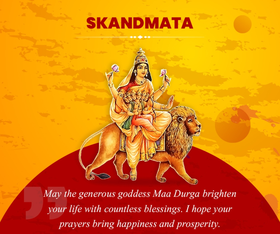 Chaitra Navratri Day 5 Maa Skandmata: Messages, wishes, quotes, images, Facebook and WhatsApp status to share with your family and friends