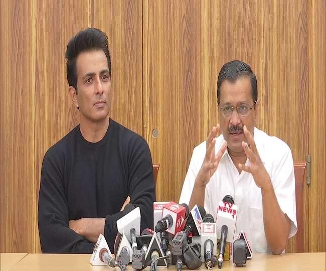 Sonu Sood to be brand ambassador of AAP govt's 'Desh ka Mentor' programme, announces Arvind Kejriwal