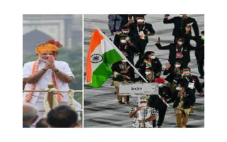 India's Olympic contingent to be PM Modi's special guests at Red Fort on Independence Day