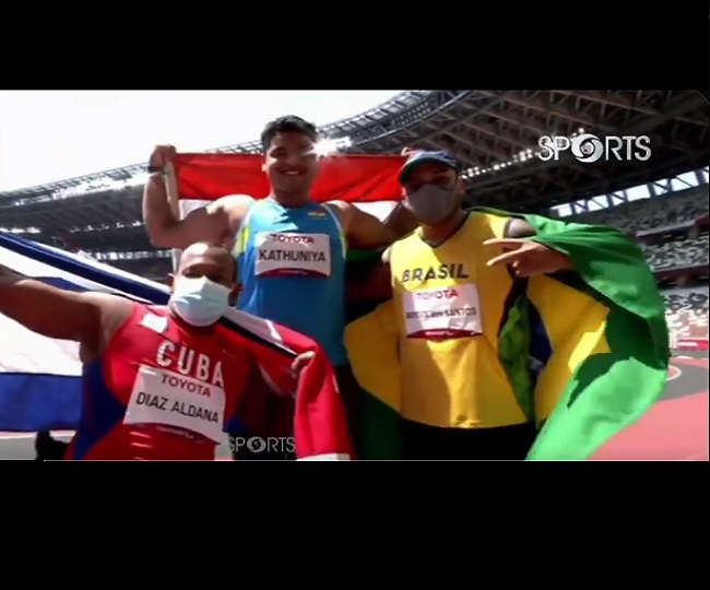 Tokyo Paralympics: Another medal for India as Yogesh Kathuniya wins Silver in discus throw