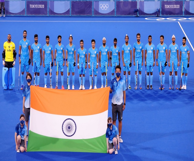 Indian Men's Hockey team brought home a Bronze after 41 years in Olympics, see how Indians celebrate