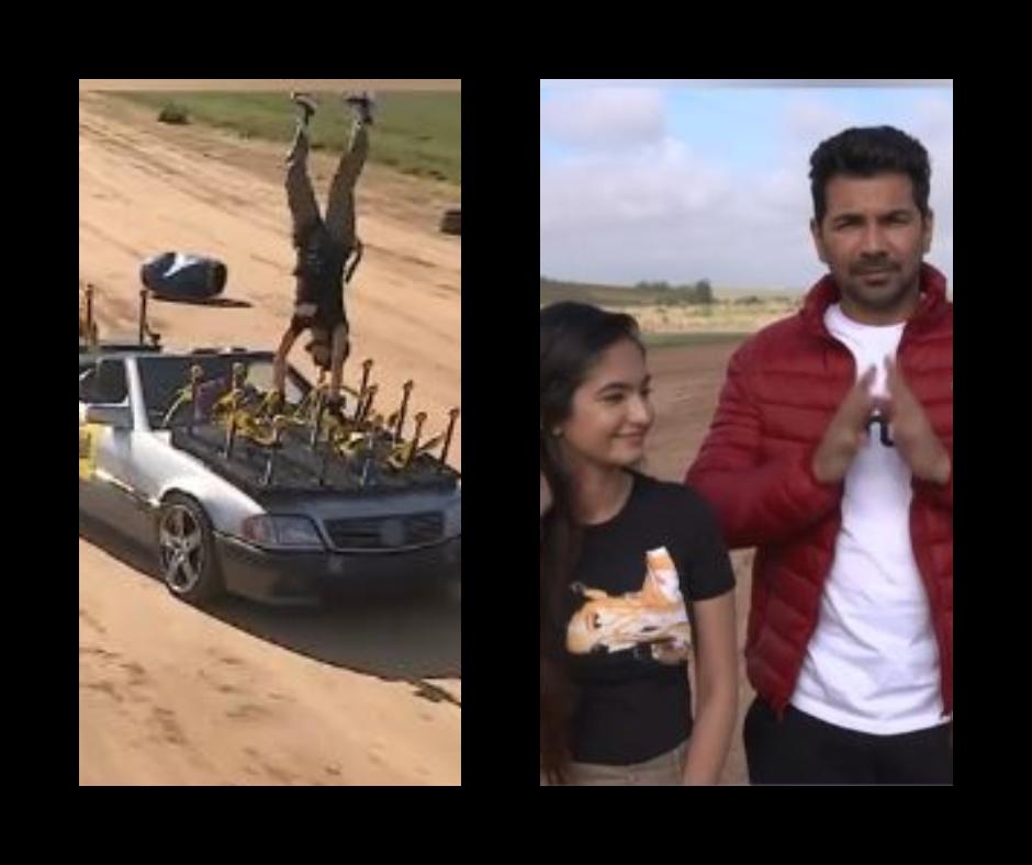Khatron Ke Khiladi 11: Abhinav Shukla gets angry on Anushka Sen as she fails to perform the car and flag stunt | Watch