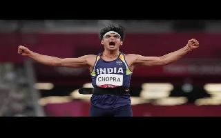 Tokyo Olympics: Neeraj Chopra wins historic Gold in Javelin throw as India..