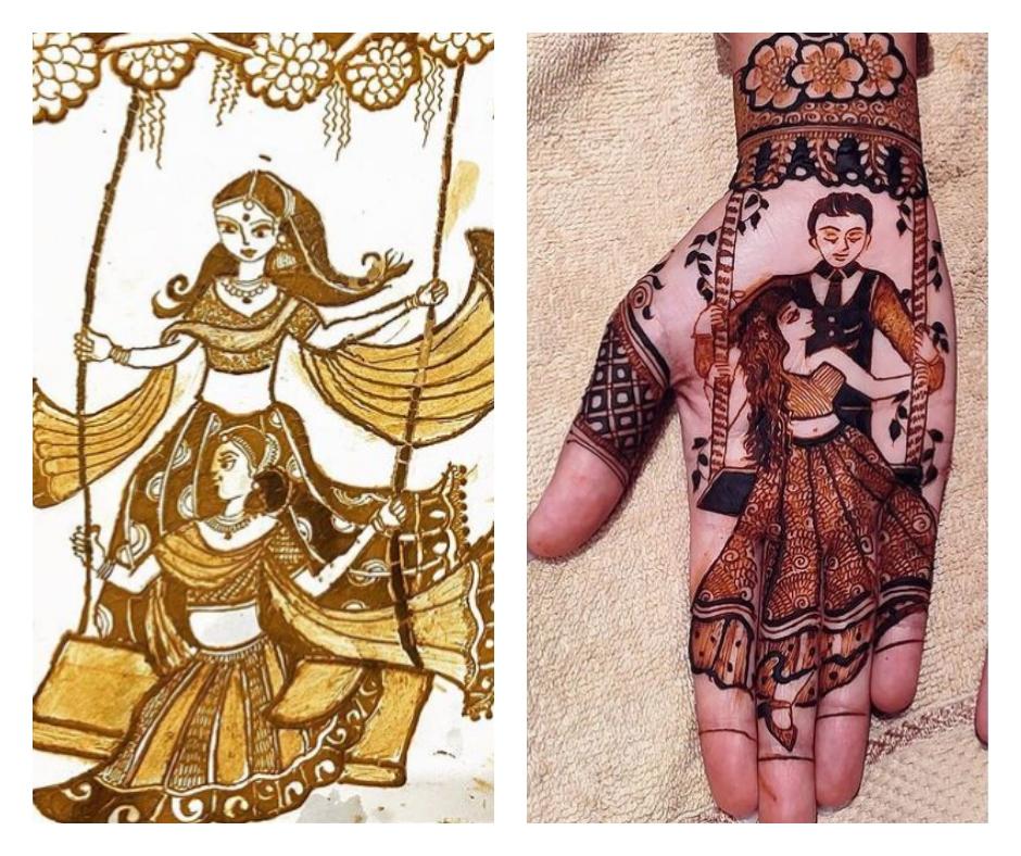Hariyali Teej Mehendi designs 2021: 10 beautiful henna pictures to take ideas for the festival   See pics