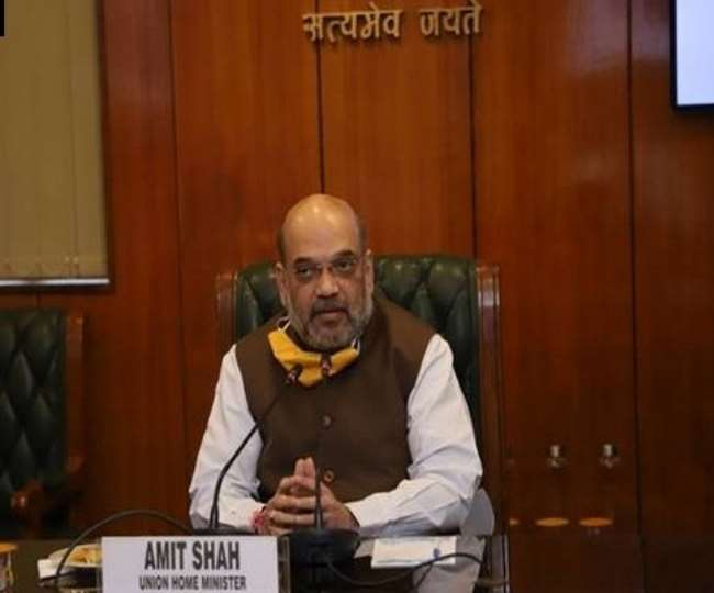 Amit Shah reviews COVID-19 situation in India as five states report spike in cases