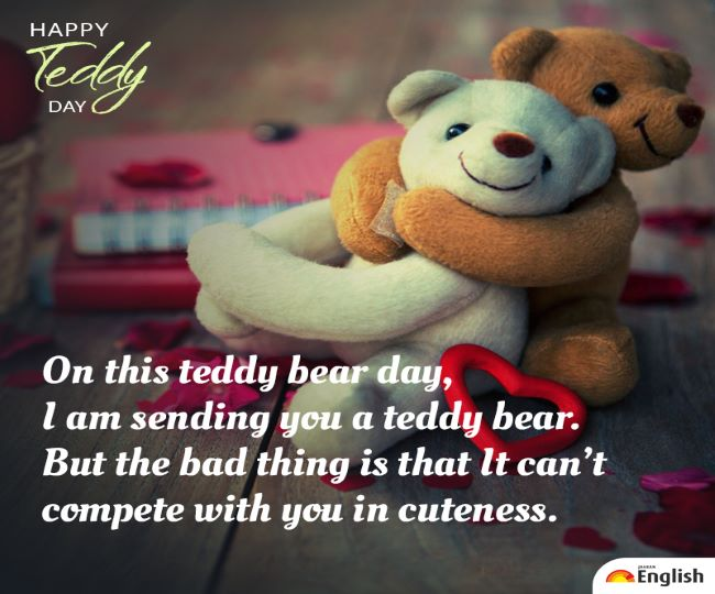 Bear quotes teddy boyfriend Happy Teddy