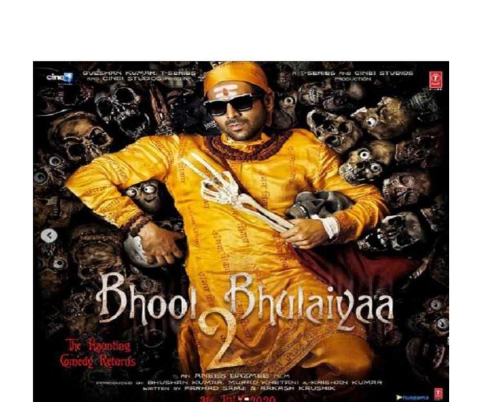 Image result for Anees Bazmee's Bhool Bhulaiyaa 2 starring Kartik Aaryan and Kiara Advani to release on November 19, 2021