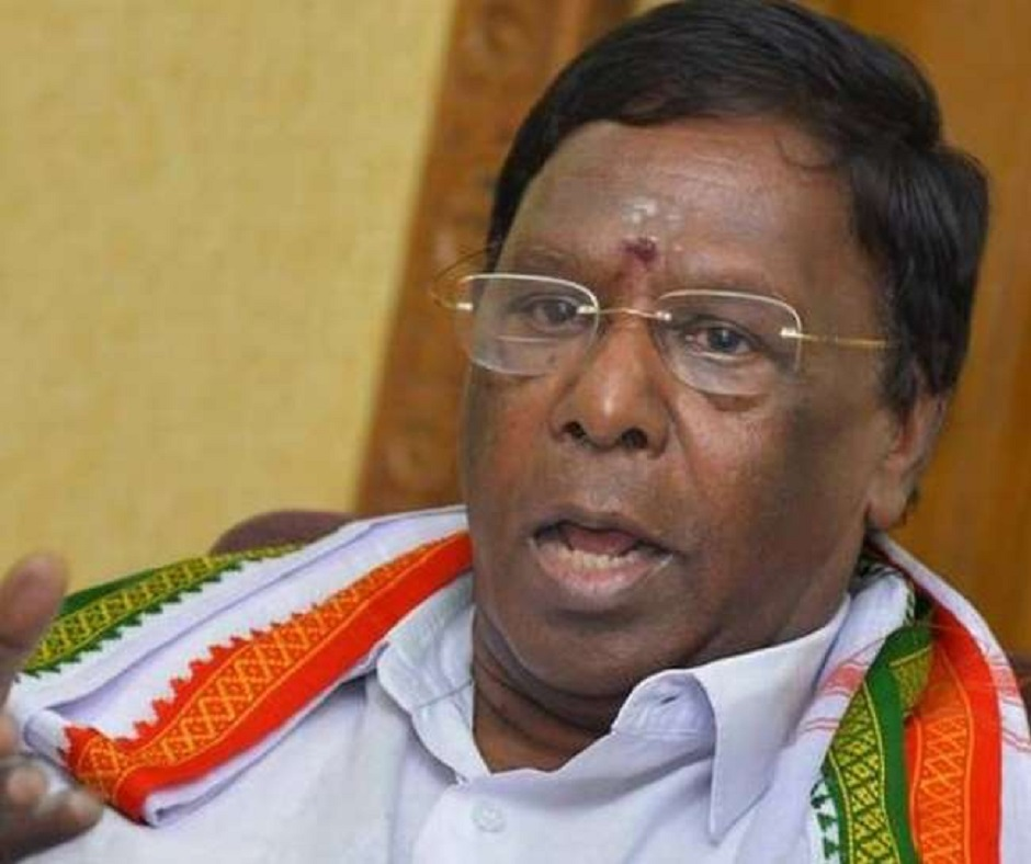 Puducherry Political Crisis: Will V Narayanasamy-led Congress govt survive floor test today? Here's what the numbers say